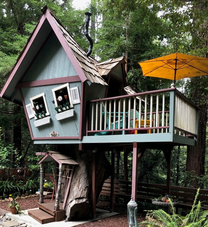 Treehouse crooked